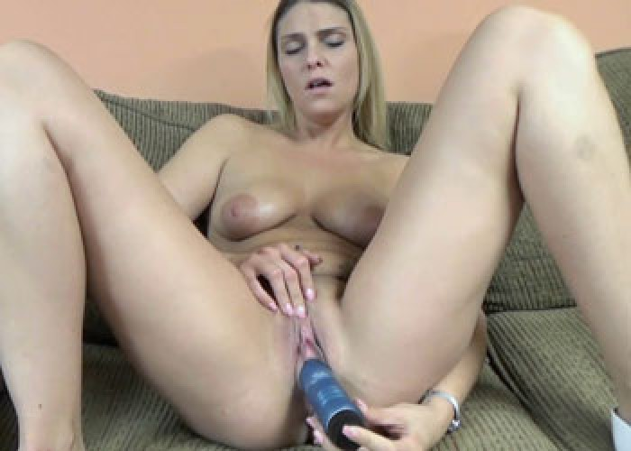 Stevie Rae is fucking a big toy